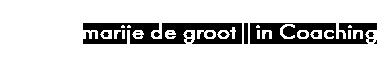 Marije de Groot Logo